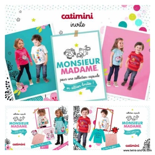 Caimini Collection Capsule Monsieur Madame