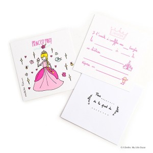 Invitations Princesse Mathilde Cabanas