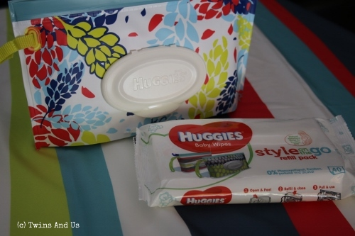 Test Lingettes et Pochette Huggies Style On the Go