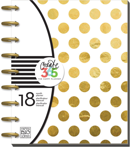 The Happy Planner - Gold Foil Dots