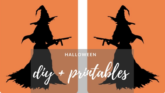 DIY printables Halloween