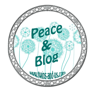 peace & blog twins and us