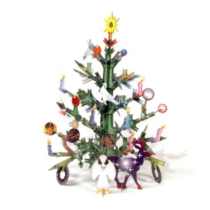 Jeu de construction Totem Christmas Tree / Studio Roof