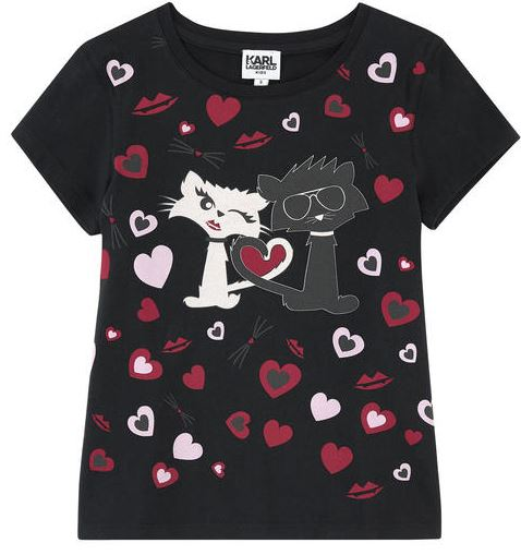 Tee Shirt choupette In Love