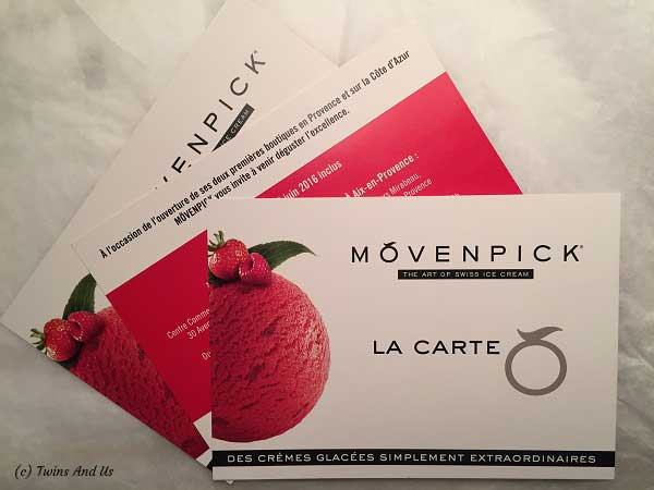 Concours Twins And Us x Mövenpick