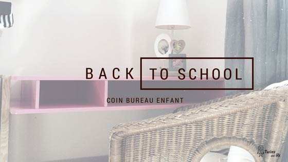 Back to School Bureau Enfant