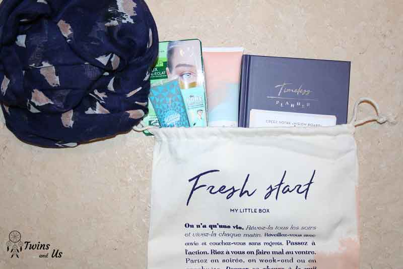 My Little Fresh Start Box unboxing