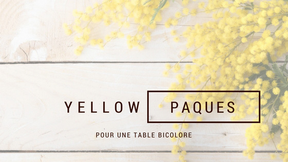 Yellow-Paques-decoration-de-table