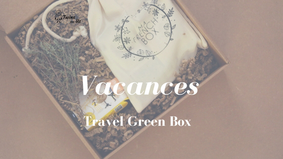 Unboxing de la Travel Green Box de Ma French Box