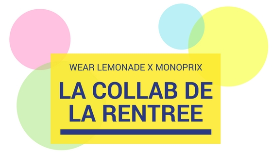 Confettis Factory Wear Lemonade X Monoprix