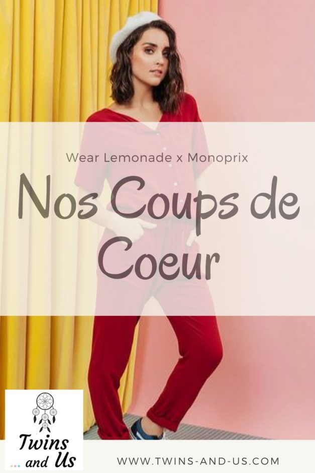 collab wear lemonade x monoprix nos coups de c ur. Black Bedroom Furniture Sets. Home Design Ideas