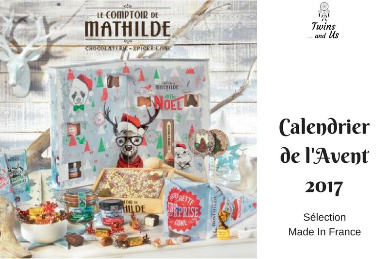 Calendrier de l'Avent Made in France Le Comptoir de Mathilde 2017