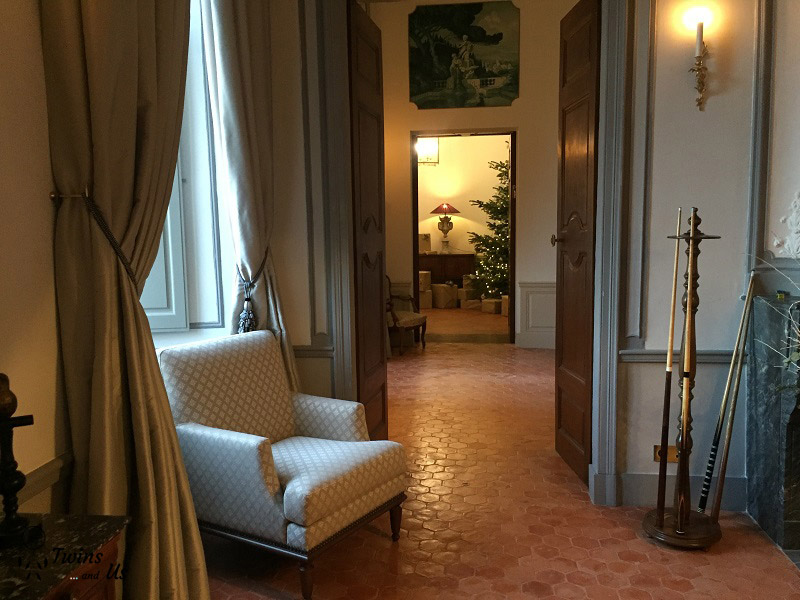 Enfilade salons chateau de Fonscolombe