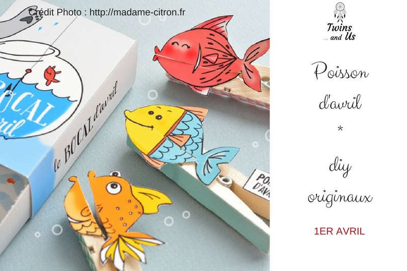 DIY poisson d'avril par Madame Citron