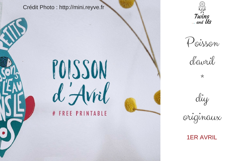 Printable Poisson D'avril Par Mini Reyve et Mathou