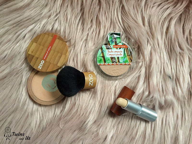 Maquillage bio et naturel : le teint avec Zao Make Up