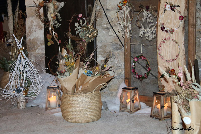 Compositions florales, Les Herbes Sauvages, Christmas Ding 2018