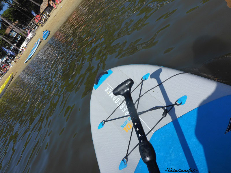 Session de Paddle en Solo, Hossegor, Lac Marin
